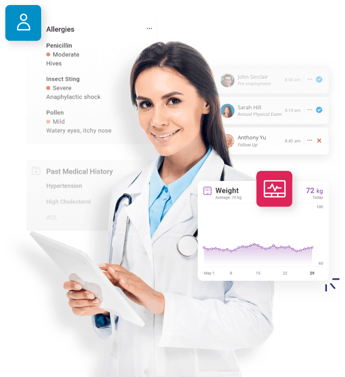 electronic medical records doctor